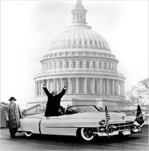 President Eisenhower in 1953 Eldorado