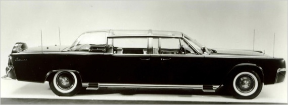 1961 Continental X100 - Kennedy was shot in this vehicle