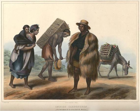 """""""Indios carboneros y laboradores de la vecindad de México"""""""