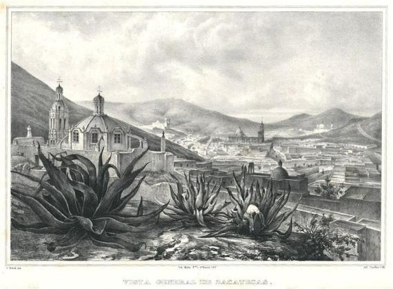 """Vista general de Zacatecas"""