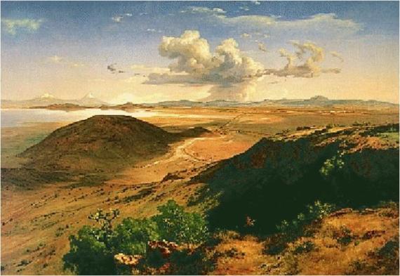 """""""Valle de México desde el cerro del guerrero"""""""