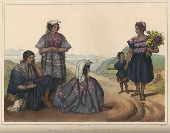 """""""Indías de la Sierra del Sur de México"""""""