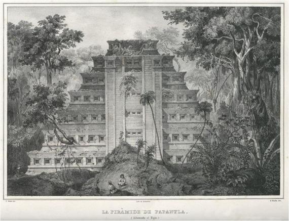 """La Pirámide de Papantla (El Tajín)"""