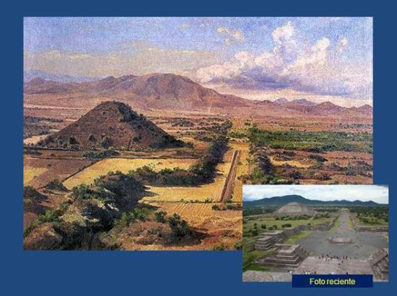 """""""Teotihuacán a fines del siglo XIX"""""""