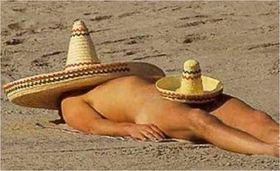 Solo en México!!! (Ya ven... Les digo que soy alérgico al sol...)